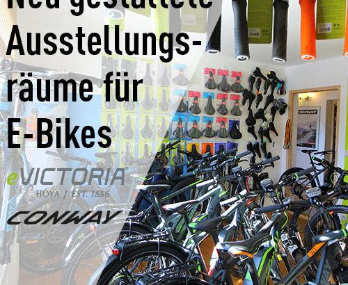 Neue E-Bike Räume