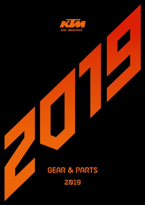 KTM Gears & Parts 2019 Katalog